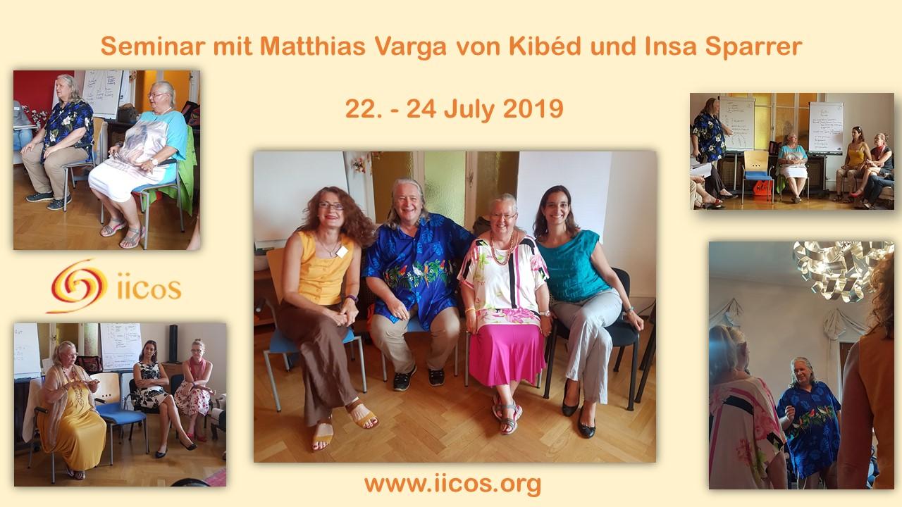 SYSTEMIE - Formation SySt avec Matthias Varga von Kibéd et Insa Sparrer