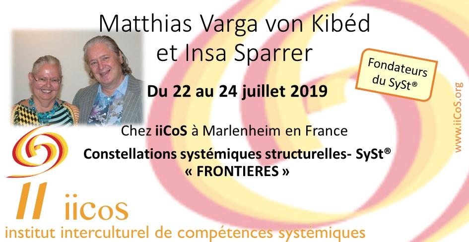 Formation par les fondateurs du SySt – Matthias Varga von Kibéd et Insa Sparrer